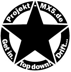 Der neue Projekt-MX5.de Aufkleber!