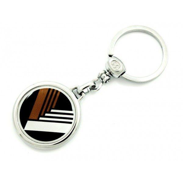 Maße 33x14mm Mazda Schlüsselanhänger MX5 NB Miata Eunos gelb emailliert